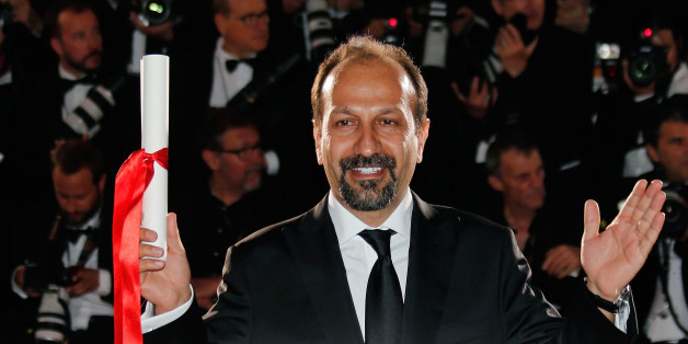 """Director Asghar Farhadi, Best screenplay award winner for his film """"Forushande"""" (The Salesman), poses during a photocall after the closing ceremony at the 69th Cannes Film Festival in Cannes, France, May 22, 2016.    REUTERS/Regis Duvignau"""