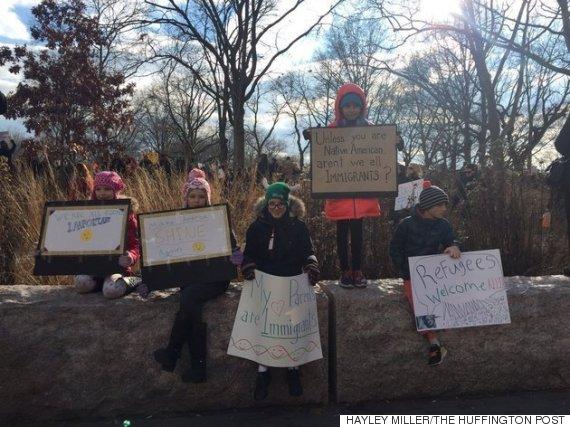 new york protest trump