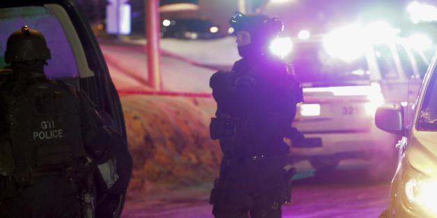 Polizeieinsatz nach einem Anschlag auf eine Moschee im kanadischen Quebec