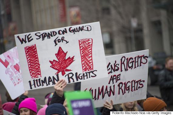 canada womens march