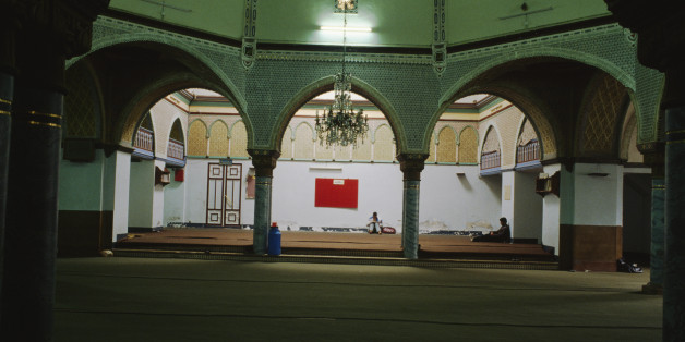 ALGERIA - MAY 05: Interior of a mosque, Algiers, Algeria. (Photo by DeAgostini/Getty Images)