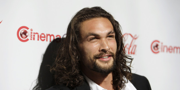 Jason Momoa, CinemaCon Male Rising Star of 2011, poses during CinemaCon, the official convention of the National Association of Theatre Owners, in Las Vegas, Nevada March 31, 2011. REUTERS/Steve Marcus (UNITED STATES - Tags: ENTERTAINMENT)