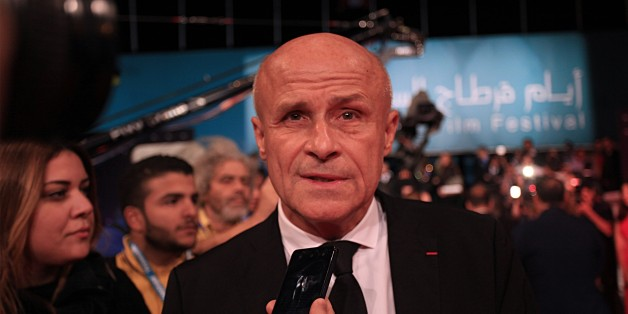 TUNIS, TUNISIA - OCTOBER 28: French Ambassador to Tunisia Olivier Poivre D'Arvor speaks to media during opening ceremony of the 27th Carthage Film Festival in Tunis, Tunisia on October 28, 2016. (Photo by Yassine Gaidi/Anadolu Agency/Getty Images)
