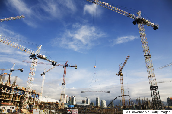 construction cranes vancouver