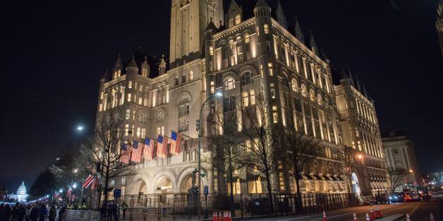 Die meisten Gegenstände im Trump-Hotel in Washington stammen aus dem Ausland