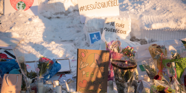 Messages and flowers are placed near a mosque that was the location of a shooting spree in Quebec City, Quebec on January 31, 2017.Alexandre Bissonnette cut a low profile as a shy, withdrawn political science student, keen on far-right ideas. The Canadian political science student known to have nationalist sympathies was charged January 30, 2017 with six counts of murder over a shooting spree at a Quebec mosque -- one of the worst attacks ever to target Muslims in a western country.Prime Ministe