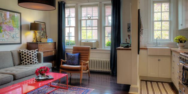 8 astuces d co pour rendre une petite pi ce plus spacieuse. Black Bedroom Furniture Sets. Home Design Ideas