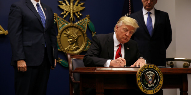 presidential executive orders and the constitution what can trump really do huffpost