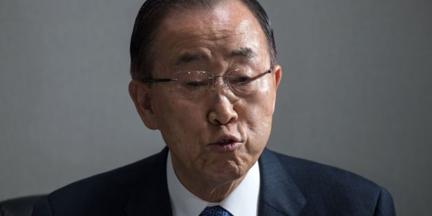 Retired UN Secretary General Ban Ki-Moon speaks to the media in Seoul on January 31, 2017.Ban returned to South Korea on January 12 as momentum builds around his possible run in elections to succeed impeached President Park Geun-Hye.  / AFP / Ed JONES        (Photo credit should read ED JONES/AFP/Getty Images)