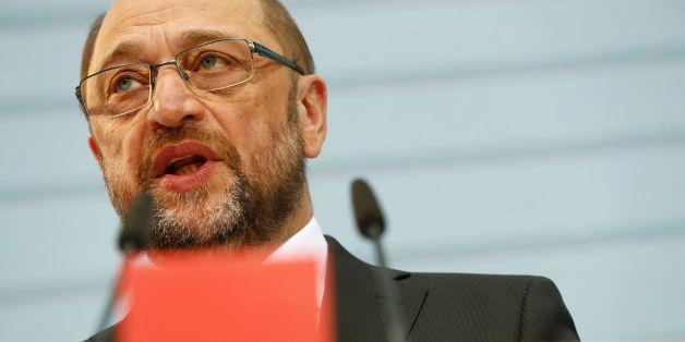 Der designierte SPD-Kanzlerkandidat Martin Schulz