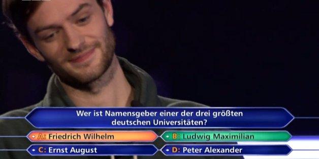 """""""Wer wird Millionär"""": Die Entscheidungsfrage ist nicht korrekt"""