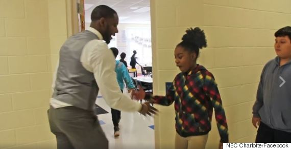 teacher handshakes