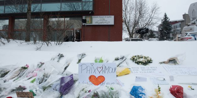 Messages are placed near a mosque that was the location of a shooting spree in Quebec City, Quebec on February 1, 2017.Alexandre Bissonnette cut a low profile as a shy, withdrawn political science student, keen on far-right ideas. The Canadian political science student known to have nationalist sympathies was charged January 30, 2017 with six counts of murder over a shooting spree at a Quebec mosque -- one of the worst attacks ever to target Muslims in a western country.Prime Minister Justin Tru