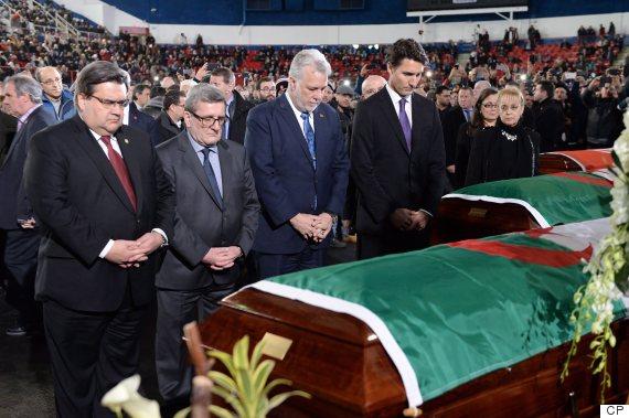 trudeau quebec mosque funeral