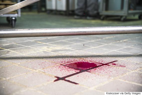 blood floor hospital