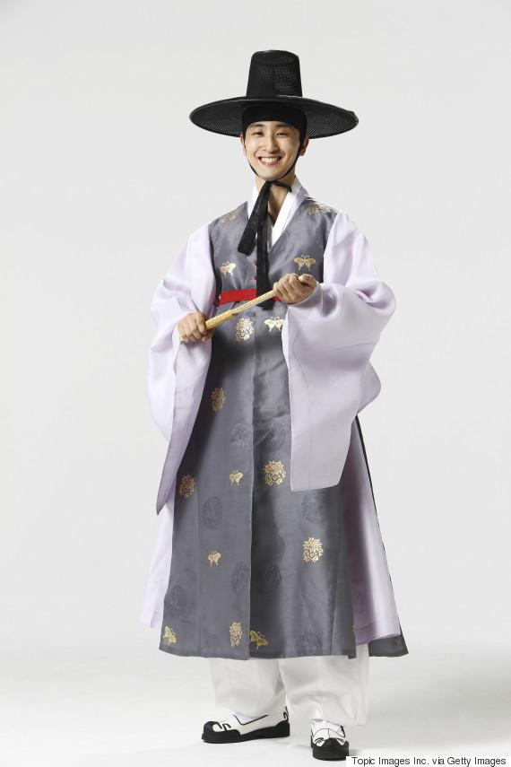 korea traditional gentleman