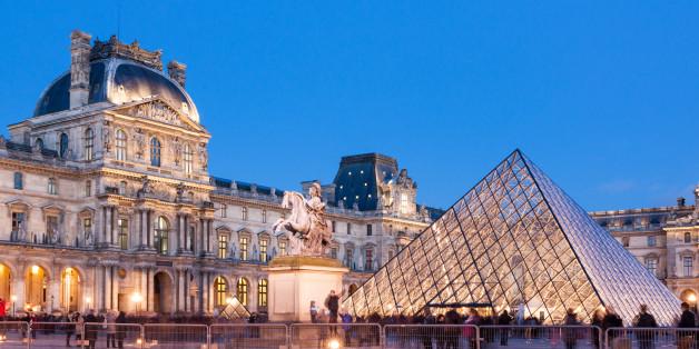 Der Louvre in Paris ist geschlossen worden