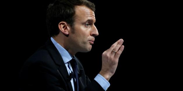 Emmanuel Macron, Favorit der Präsidentschaftswahlen in Frankreich