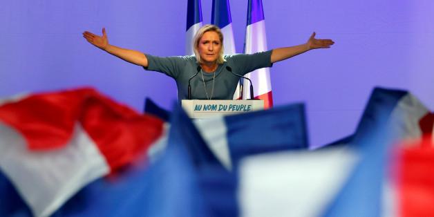 """Marine Le Pen will den """"Frexit"""" - wird sie Frankreichs Präsidentin, könnte das das Ende der EU bedeuten"""