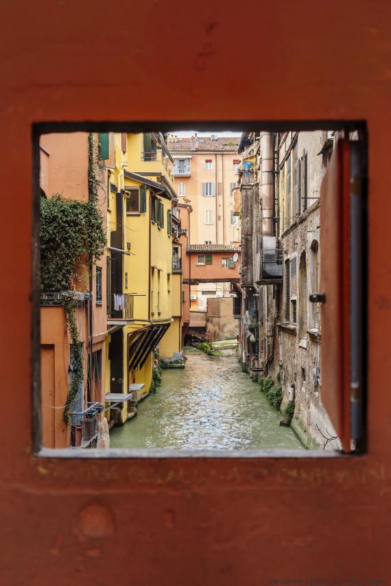 bologna italy canal
