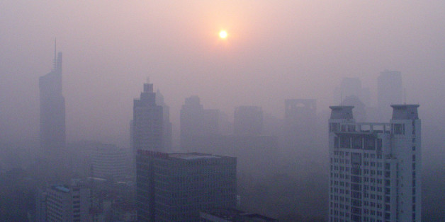 Zwei begrünte Türme sollen in der chinesischen Stadt Nanjing für bessere Luft sorgen