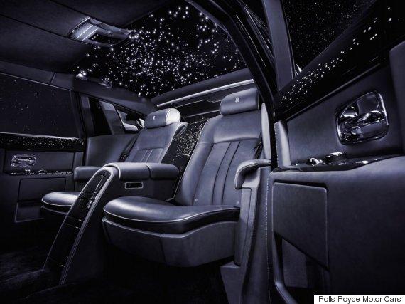 Rolls Royce Phantom VIIs Starry Sky Is The Trippiest Car Feature