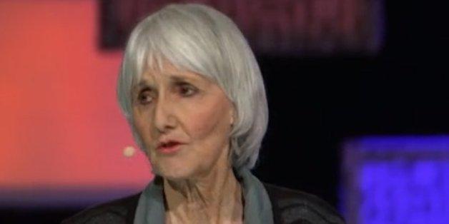 Sue Klebold in einem Vortrag für Ted.