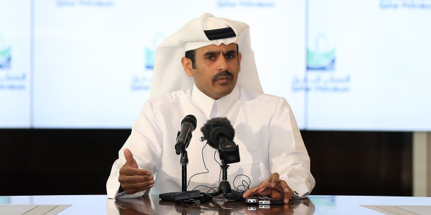 Qatar Petroleum CEO Saad Al-Kaabi speaks during a press conference in Doha on February 6, 2017. The head of energy giant Qatar Petroleum has shrugged off fears that any potential protectionist policies pursued by US President Donald Trump would impact on global oil and gas markets. Saad Al-Kaabi -- who heads state-owned QP, the largest exporter of Liquid Natural Gas and one of the biggest oil companies in the world -- said he expected US policy to remain similar to that exercised under previous