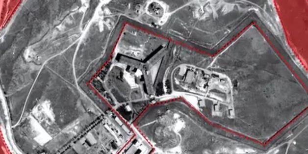 Von der Haftanstalt Sajdnaja gibt es nur Satellitenbilder