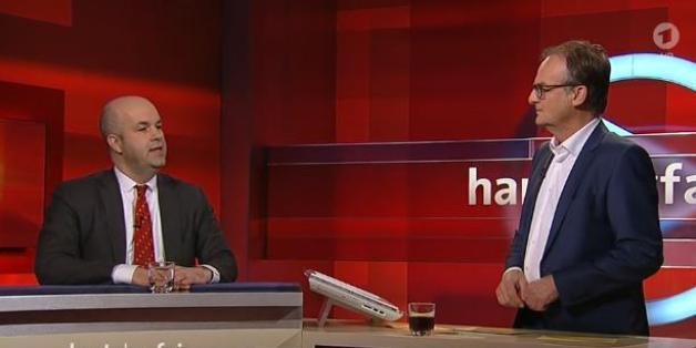 """Ökonom Michael Fratzscher bei """"Hart aber fair"""""""