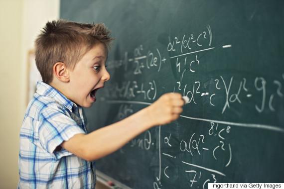mathematics blackboard
