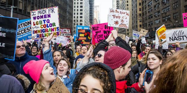 Proteste von Trump-Gegnern