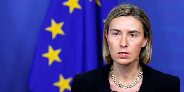 La vice-présidente de la Commission européenne, Federica Mogherini, le 2 février 2017 (Reuters)