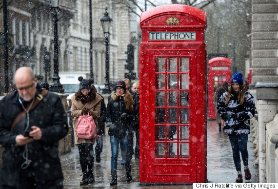 telephone box london