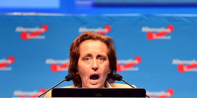 AfD-Sprecherin Beatrix von Storch hat gegen Karnevalisten geschimpft