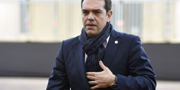 Greec's Prime Minister Alexis Tsipras arrives for an Informal summit of EU heads of state or government on February 3, 2017 in Valletta, Malta.  European Union leaders will try to rally together to revive the beleaguered bloc at a special summit in Malta Friday in the face of 'threats' from migration, Brexit and Donald Trump. It is the latest in a series of crisis meetings since Britain voted to leave the EU last June, but fears about the new US president have strengthened the sense that the bloc is now at a decisive moment in its history. / AFP / ANDREAS SOLARO        (Photo credit should read ANDREAS SOLARO/AFP/Getty Images)