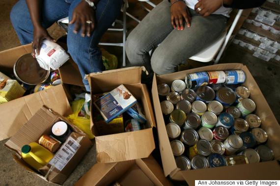 food donation church