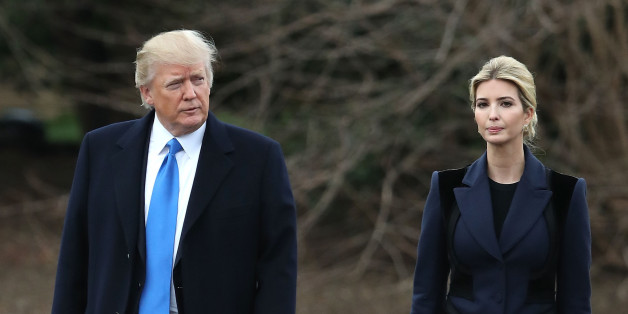 WASHINGTON, DC - FEBRUARY 01: U.S. President Donald Trump and his daughter Ivanka Trump walk toward Marine One while departing from the White House, on February 1, 2017 in Washington, DC. Trump is making an unnanounced trip to Dover Air Force bace in Delaware to pay his respects to Chief Special Warfare Operator William 'Ryan' Owens, who was killed during a raid in Yemen. Owens is the first active military service member to die in combat during Trump's presidency. (Photo by Mark Wilson/Getty Ima