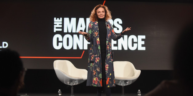 RANCHO PALOS VERDES, CA - FEBRUARY 07:  Designer Diane von Furstenberg speaks onstage during The 2017 MAKERS Conference Day 2 at Terranea Resort on February 7, 2017 in Rancho Palos Verdes, California.  (Photo by Emma McIntyre/Getty Images for AOL)
