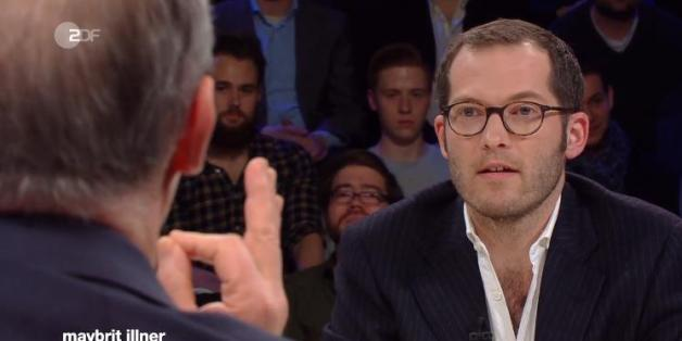 """""""Bild""""-Chef Julian Reichelt und SPD-Politiker"""