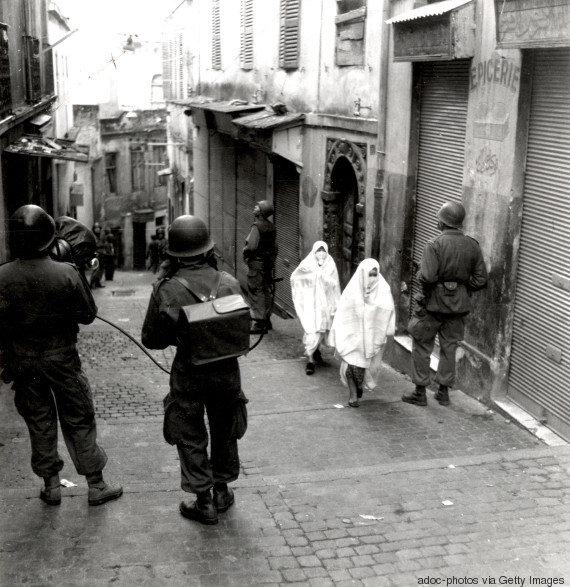 algeria war day of strike