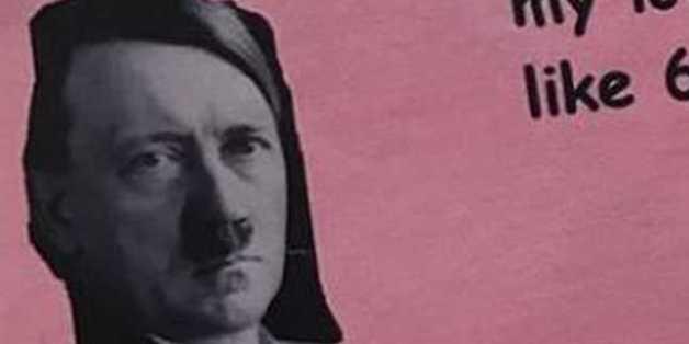 Studentengruppe verteilt Hitler-Valentinskarte