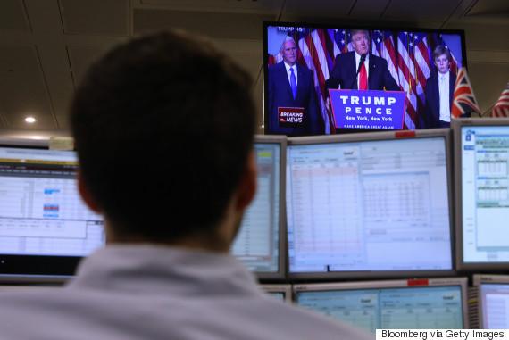 traders watch trump