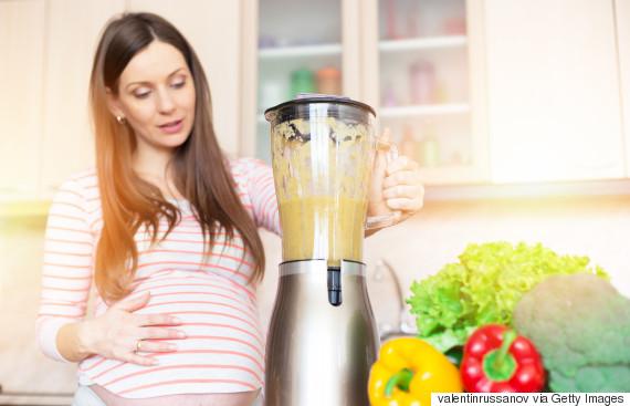 pregnant smoothie