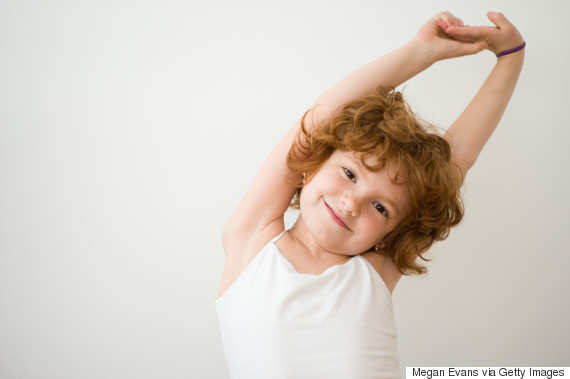 child stretch