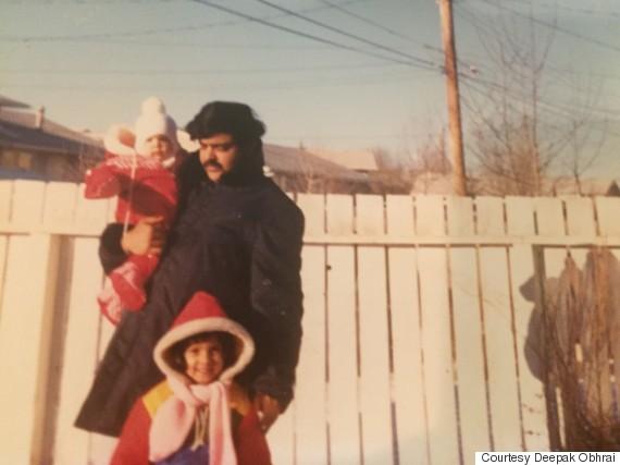 deepak obhrai family