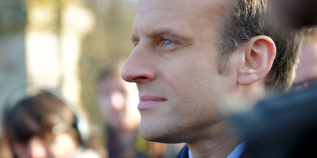 Former French Economy Minister, founder and president of the political movement 'En Marche !' (On the move!) and candidate for the France's 2017 presidential elections Emmanuel Macron looks on as he visits the 'Ferme d'avenir' ('Farm of the future') inside the castle 'La Bourdaisiere' on February 10, 2017 at Montlouis-sur-Loire, central France.  / AFP / GUILLAUME SOUVANT        (Photo credit should read GUILLAUME SOUVANT/AFP/Getty Images)