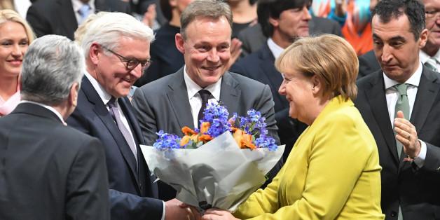 SPD-Politiker und Merkel gratulieren Steinmeier - Grüne und Linke geben ihm einen Auftrag mit