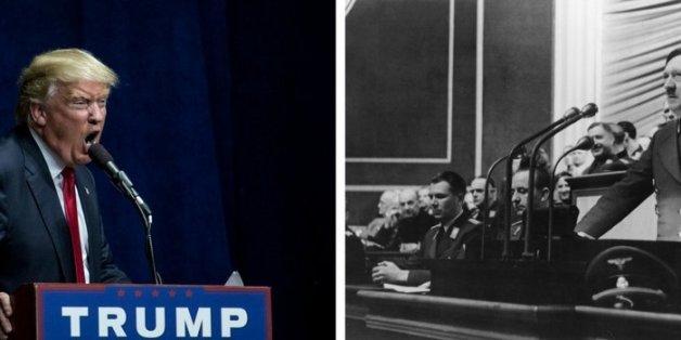 Historiker erklärt 5 erschreckende Merkmale: So ähnlich sind sich Trump und Hitler