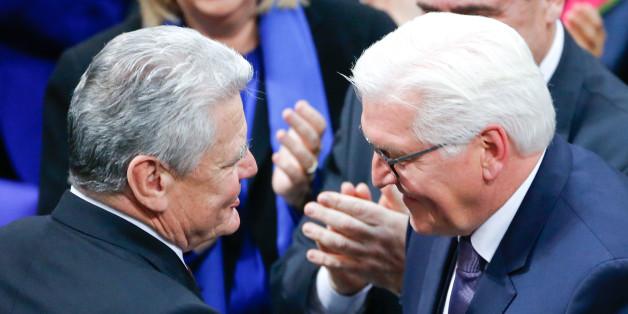 Steinmeier und Gauck.